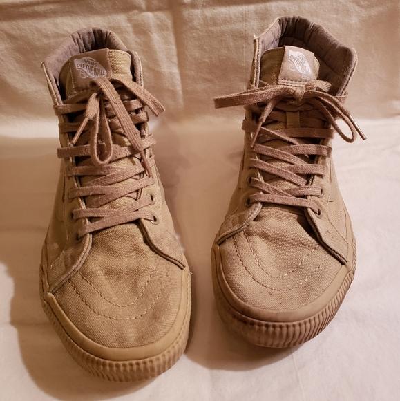 Vans Shoes   Vans Sk8hi Tan Hightop